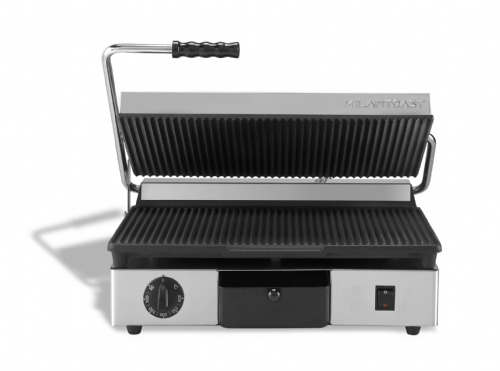 Maestrowave MEMT16030XNS Ribbed top and bottom non-stick plates